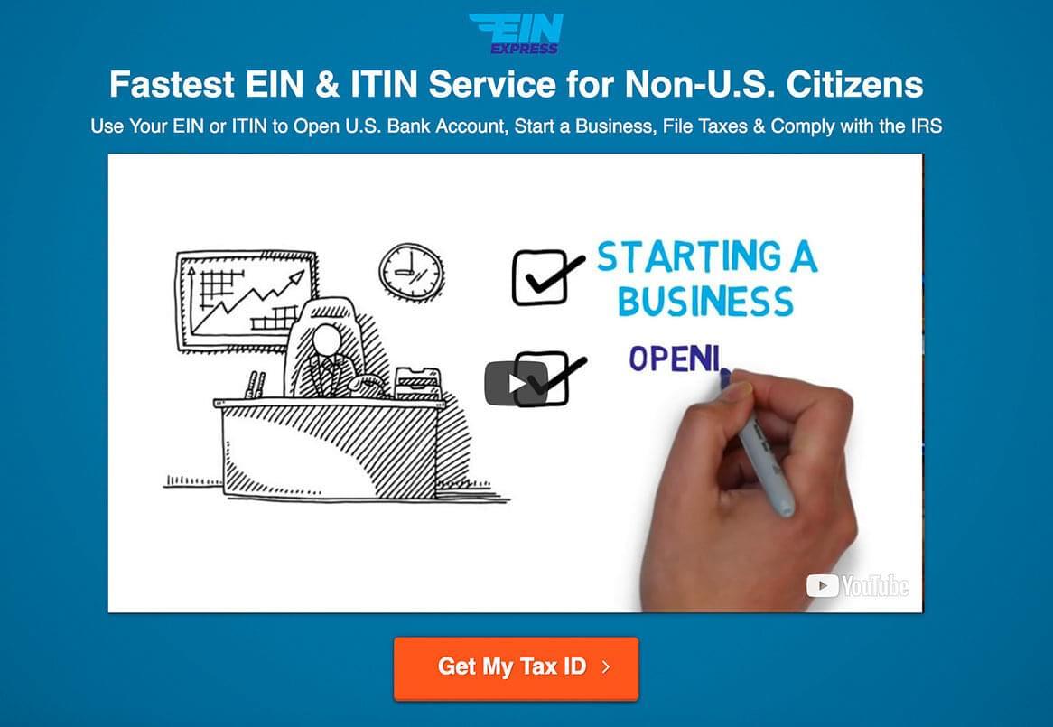 EIN Express: Fastest EIN & ITIN Service for Non-US Citizens